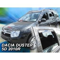 Vėjo deflektoriai DACIA DUSTER 5 durų 2010-2018 (Priekinėms ir galinėms durims)