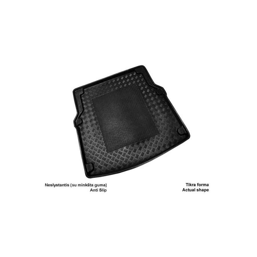 Plastikinis bagažinės kilimėlis MERCEDES BENZ W218 CLS 2011→