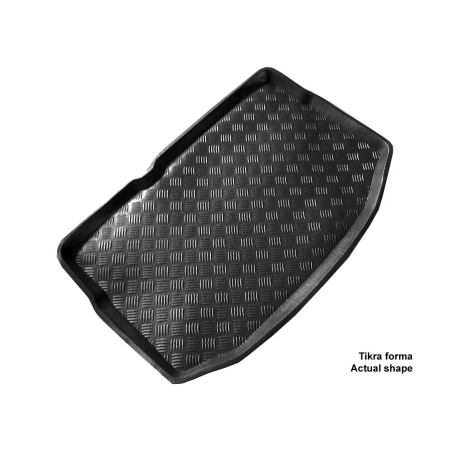 Plastikinis bagažinės kilimėlis CITROEN C3 Hatchback su stand. atsarginiu ratu 2009-2016