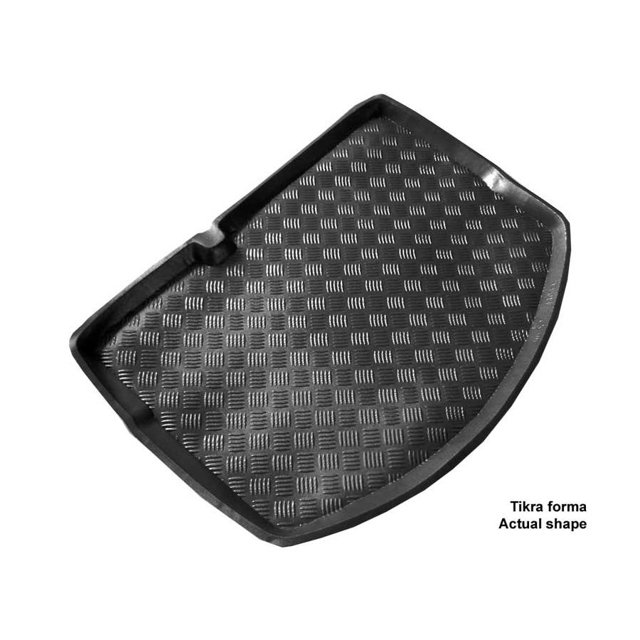 Plastikinis bagažinės kilimėlis CITROEN C3 Hatchback su plonu atsarginiu ratu 2009-2016