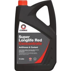 Antifrizo koncentratas COMMA Super Longlife Red, 5L