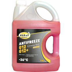 Antifrizas ALBoil G12/G12+ EXTREME RED LONG LIFE -36ºC, 5kg