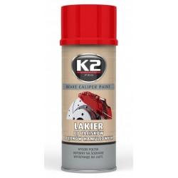 Stabdžių suportų dažai K2 BRAKE CALIPER PAINT 400ml (raudoni)