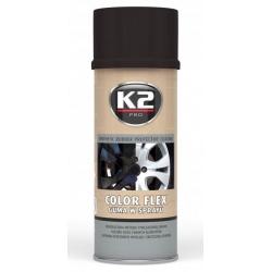 Gumuoti dažai K2 COLOR FLEX 400ml (juodi)
