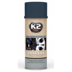 Gumuoti dažai K2 COLOR FLEX 400ml (carbon)