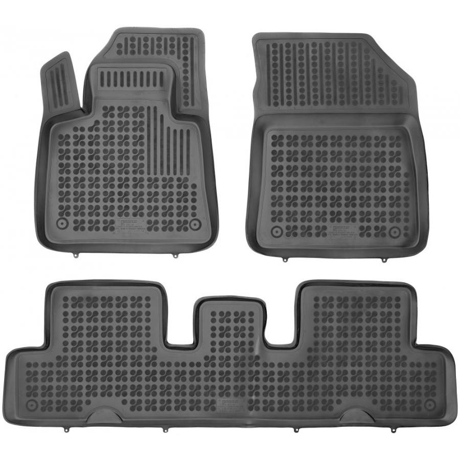 Guminiai kilimėliai CITROEN C4 Picasso II 7 vietų 2013→ (Paaukštintais kraštais)