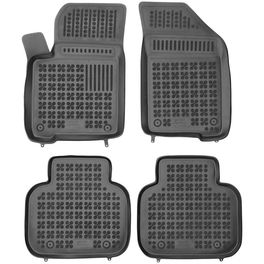 Guminiai kilimėliai FIAT Freemont 2011-2016 (Paaukštintais kraštais)