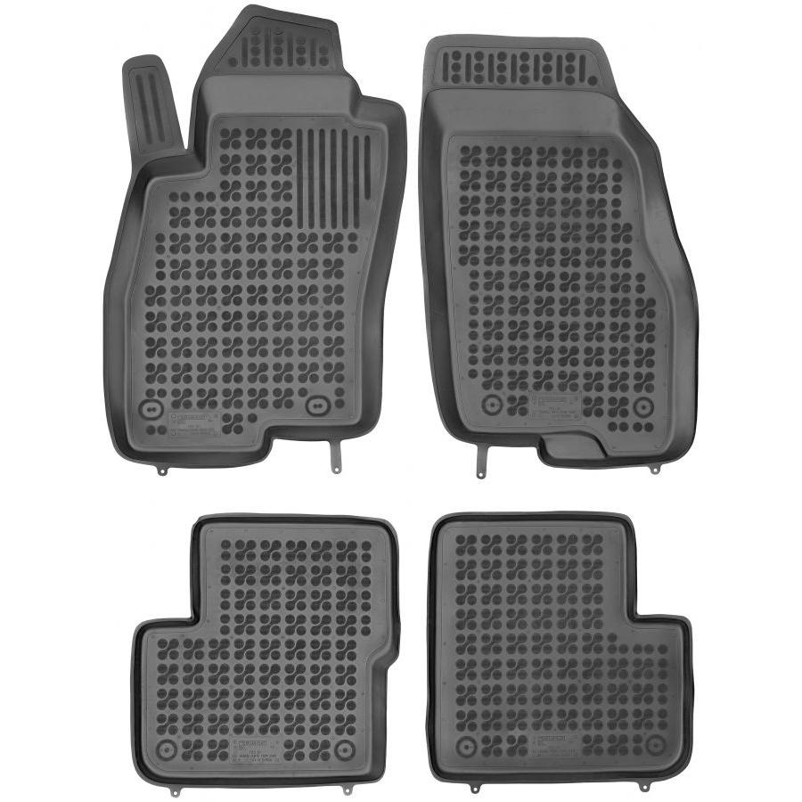 Guminiai kilimėliai FIAT Grande Punto 2005-2009 (Paaukštintais kraštais)