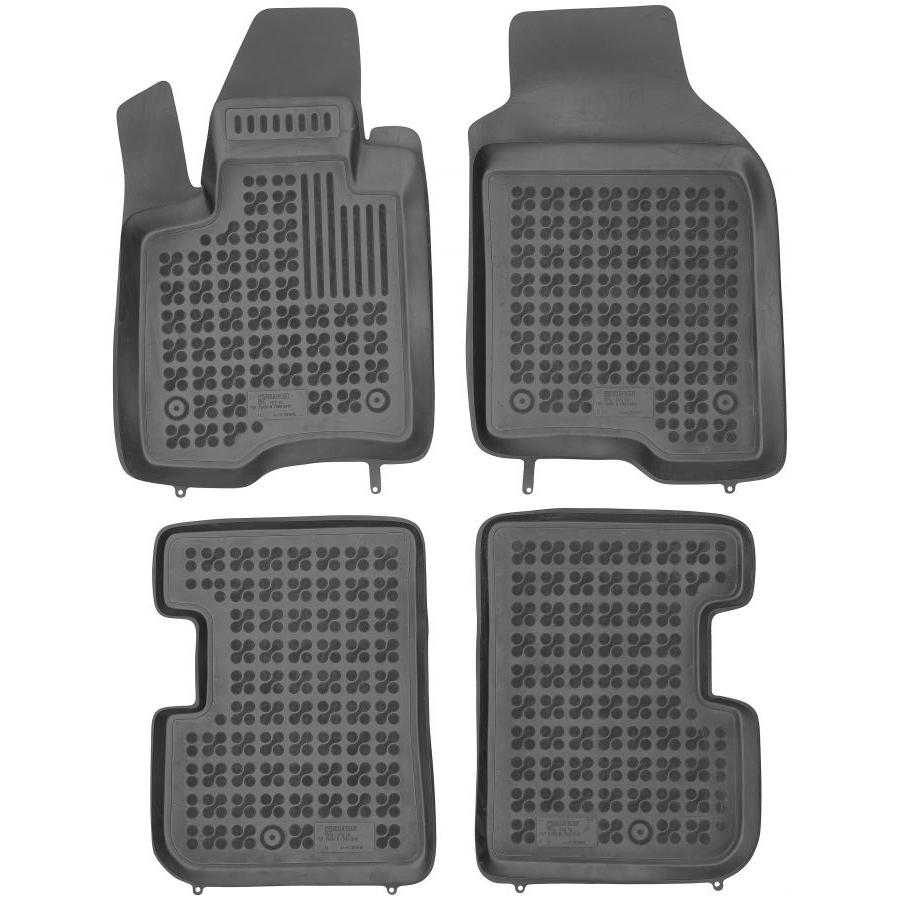 Guminiai kilimėliai FIAT Panda III 2012→ (Paaukštintais kraštais)