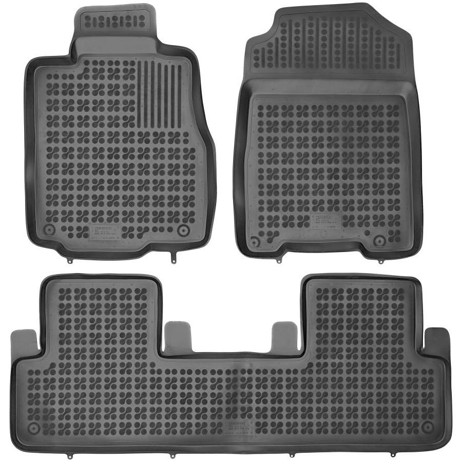 Guminiai kilimėliai HONDA CRV IV 2012-2016 (Paaukštintais kraštais)