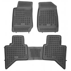 Guminiai kilimėliai ISUZU D-MAX II 2012→ (Paaukštintais kraštais)