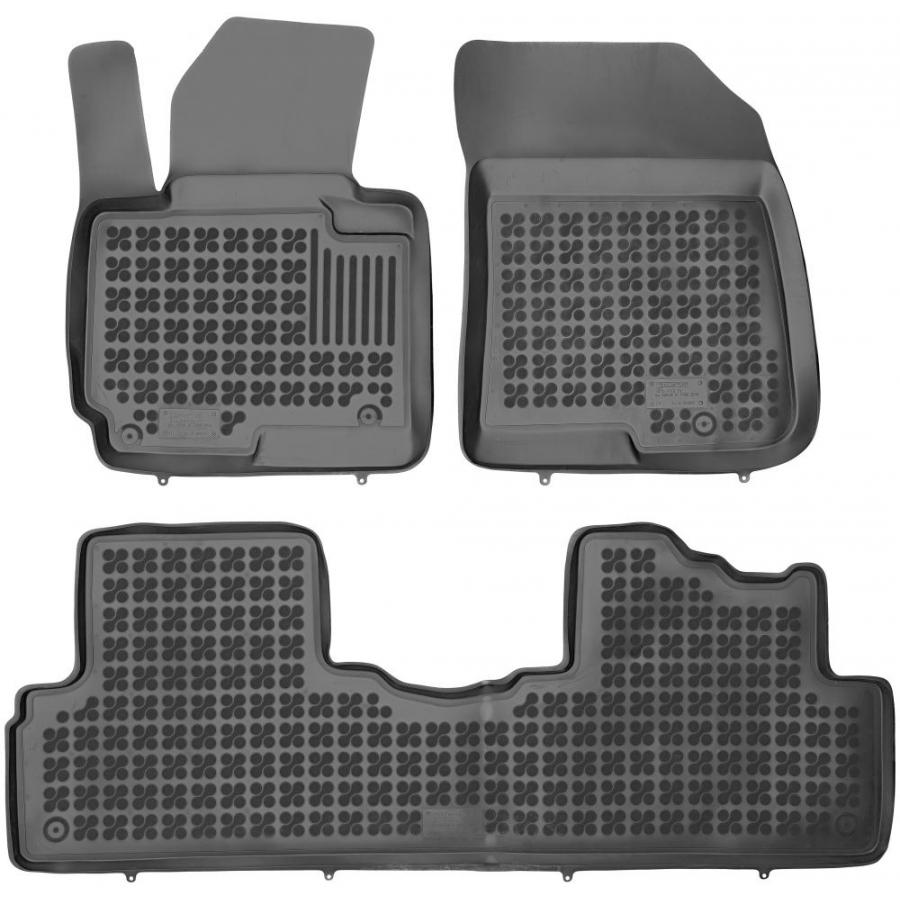 Guminiai kilimėliai KIA Carens IV 2013→ (Paaukštintais kraštais)
