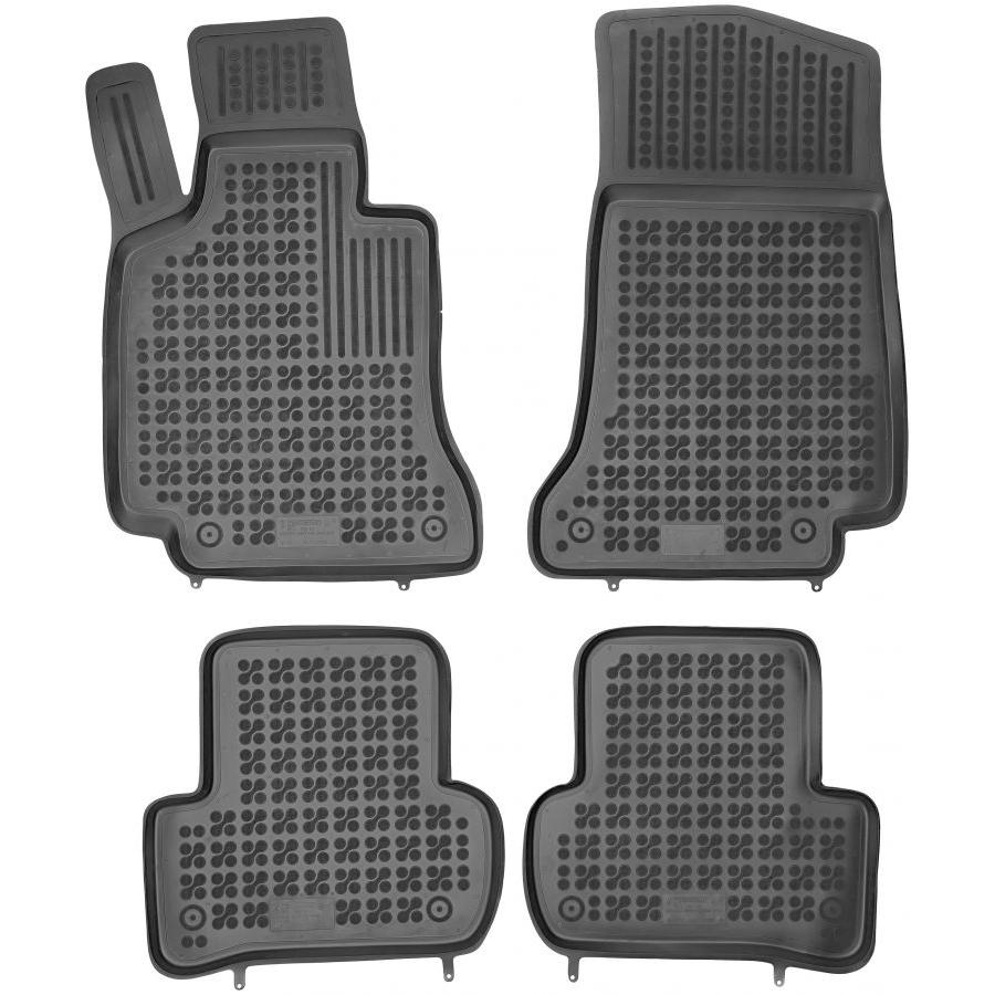 Guminiai kilimėliai MERCEDES BENZ W205 C-Klasė 2014→ (Paaukštintais kraštais)