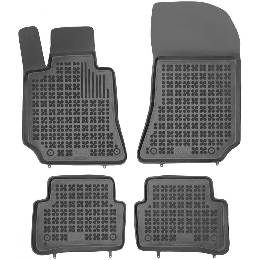 Guminiai kilimėliai MERCEDES BENZ CLS-Klasė W218 2011→ (Paaukštintais kraštais)
