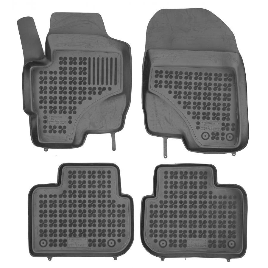 Guminiai kilimėliai MITSUBISHI Colt 5 durų 2008-2012 (Paaukštintais kraštais)