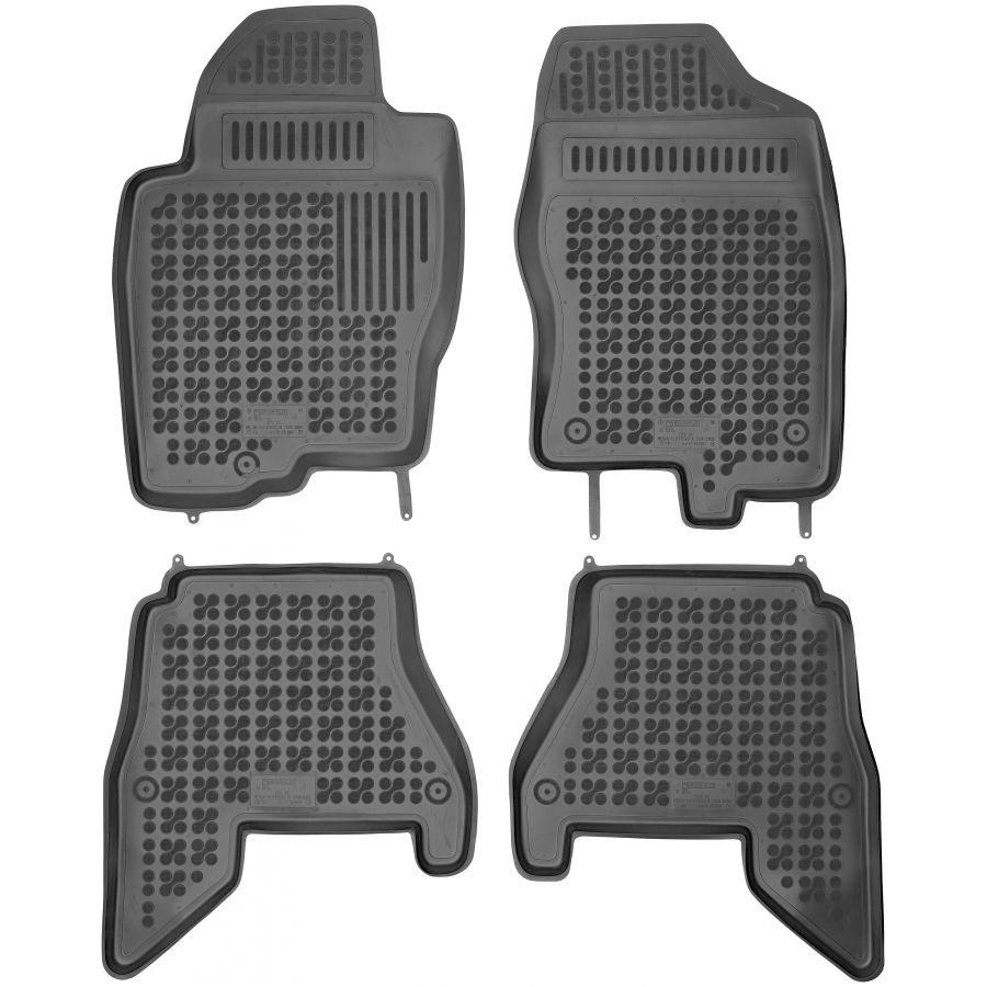 Guminiai kilimėliai NISSAN Pathfinder III 2005-2012 (Paaukštintais kraštais)