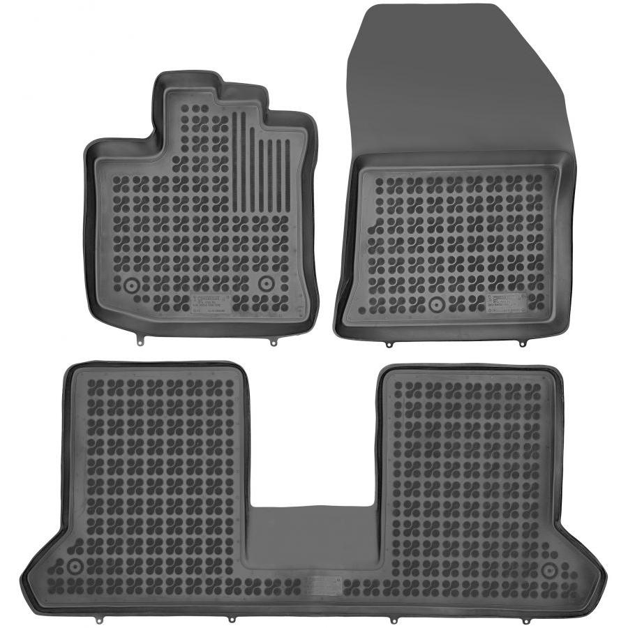 Guminiai kilimėliai DACIA Dokker 2012→ (Paaukštintais kraštais)