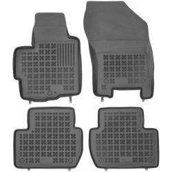 Guminiai kilimėliai PEUGEOT 4007 2007-2012 su vieta gesintuvui (Paaukštintais kraštais)