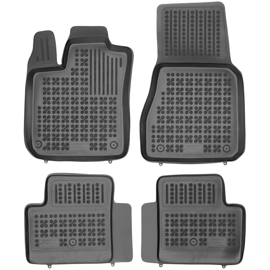 Guminiai kilimėliai RENAULT Twingo III 5 durų 2014→ (Paaukštintais kraštais)