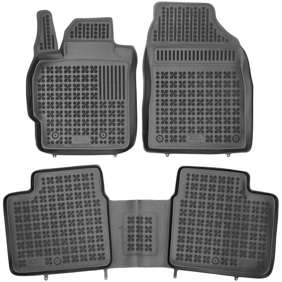 Guminiai kilimėliai TOYOTA Corolla XI 2013-2018 (Paaukštintais kraštais)