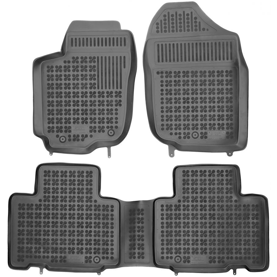 Guminiai kilimėliai TOYOTA RAV4 IV 2013-2018 (Paaukštintais kraštais)