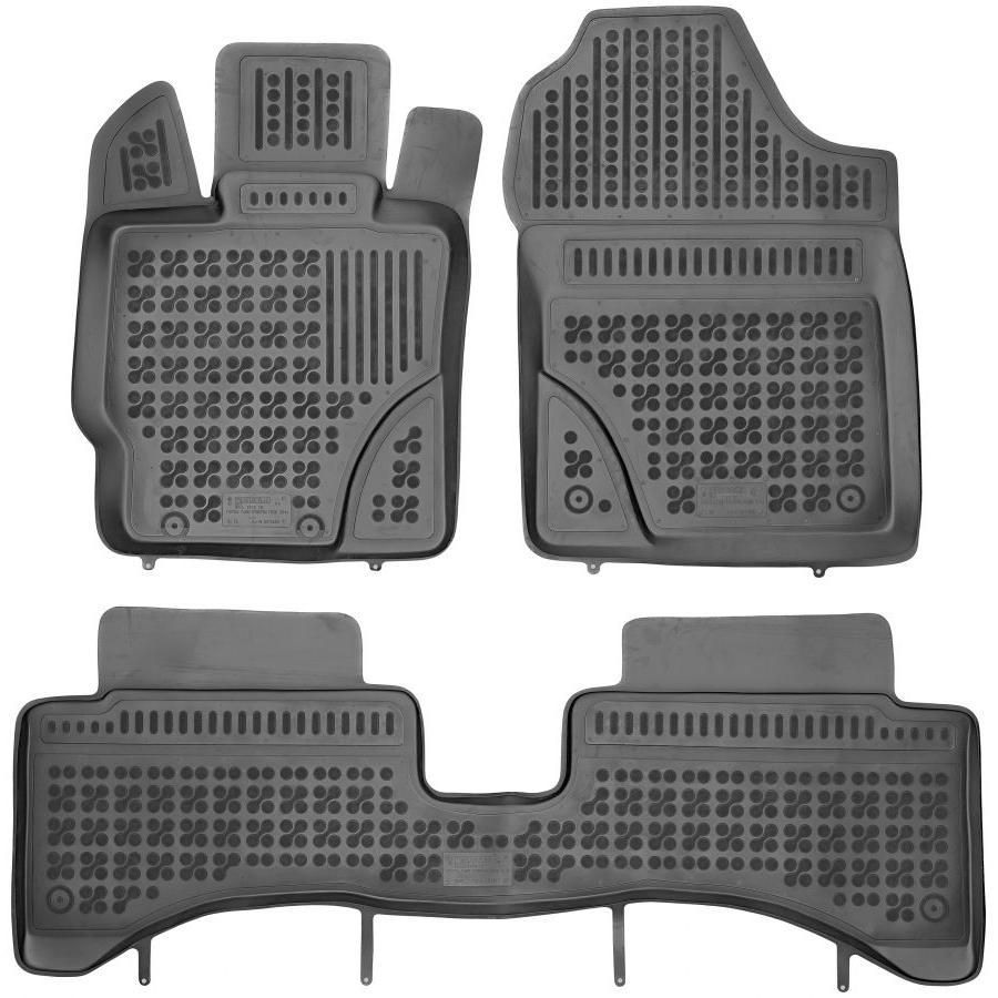 Guminiai kilimėliai TOYOTA Yaris Hybrid 2014→ (Paaukštintais kraštais)