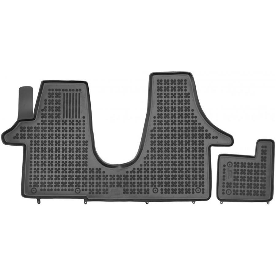 Guminiai kilimėliai VOLKSWAGEN Transporter T5 Multivan 2003-2015 (Paaukštintais kraštais)