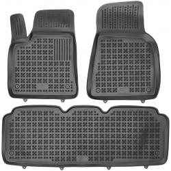 Guminiai kilimėliai TESLA Model S nuo 2012 (Paaukštintais kraštais)