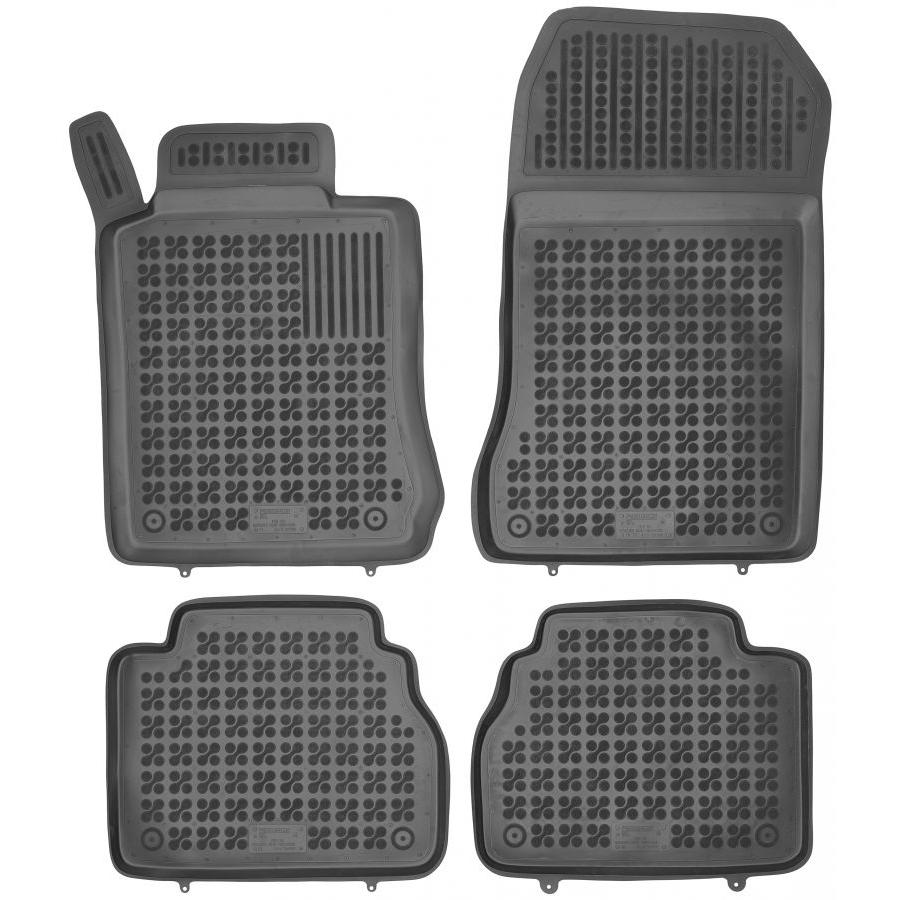 Guminiai kilimėliai MERCEDES BENZ W210 E-Klasė 1995-2003 (Paaukštintais kraštais)