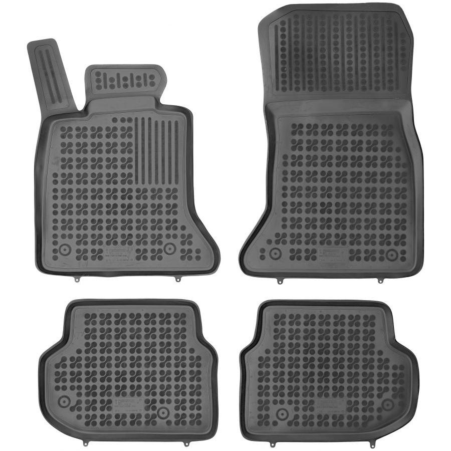 Guminiai kilimėliai BMW 5 F10 Sedan 2010-2013 (Paaukštintais kraštais)