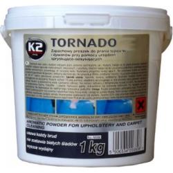 Kilimų ir apmušalų valymo milteliai K2 TORNADO 1kg