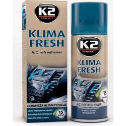 Kondicionieriaus gaiviklis K2 KLIMA FRESH 150ml