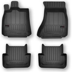 Guminiai kilimėliai Pro-Line 3D AUDI A4 B8 2008-2015 (aukštu borteliu)