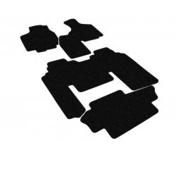 Tekstiliniai kilimėliai DODGE Grand Caravan (6 vietų, su automatine gr.dėže) 2001-2007