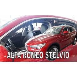 Vėjo deflektoriai ALFA ROMEO Stelvio 2017→ (Priekinėms ir galinėms durims)