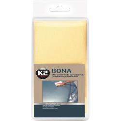 Mikropluošto šluostė K2 BONA 40x40cm (sausinimui, poliravimui, valymui)