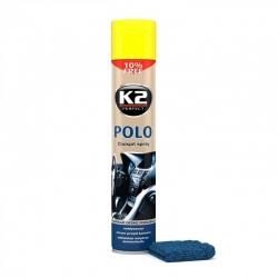 Prietaisų skydelio polirolis K2 POLO COCKPIT Lemon 750 ml (su mikropluošto šluoste)
