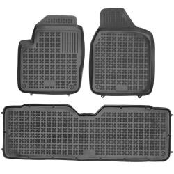 Guminiai kilimėliai SEAT Alhambra 5 vietų 1995-2010 (Paaukštintais kraštais)
