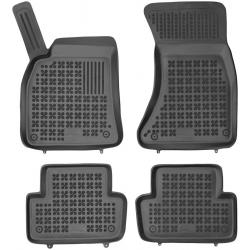 Guminiai kilimėliai AUDI A4 (B8) 2008-2015 (Paaukštintais kraštais)