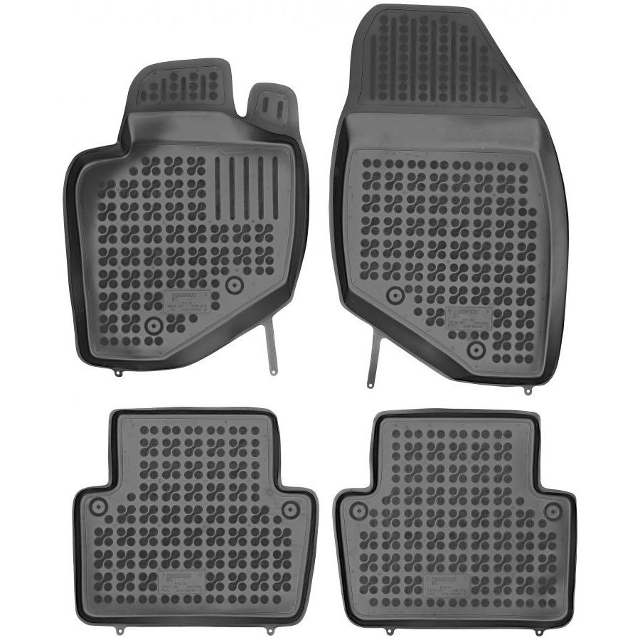 Guminiai kilimėliai VOLVO S80 1998-2006 (Paaukštintais kraštais)