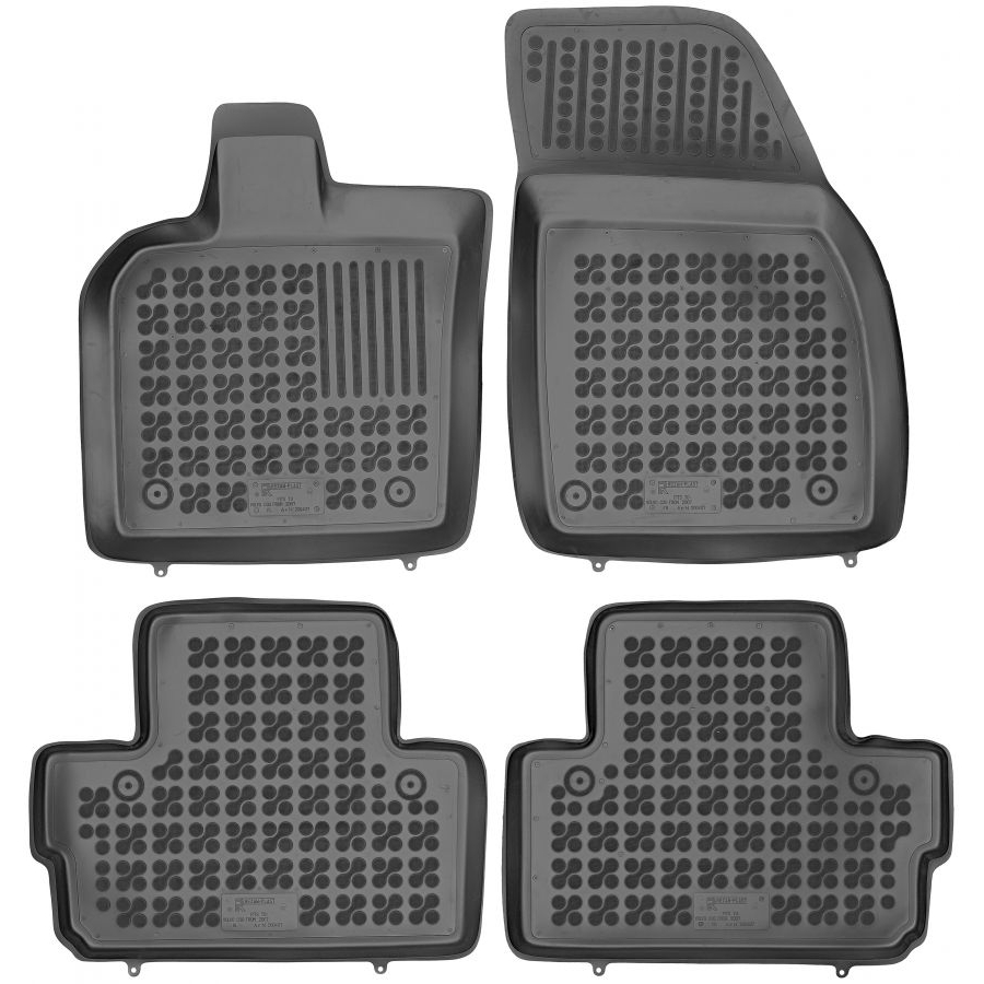Guminiai kilimėliai VOLVO C30 2007-2013 (Paaukštintais kraštais)