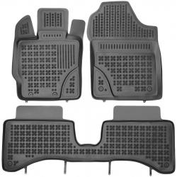 Guminiai kilimėliai TOYOTA Yaris III Hybrid 2012-2014 (Paaukštintais kraštais)