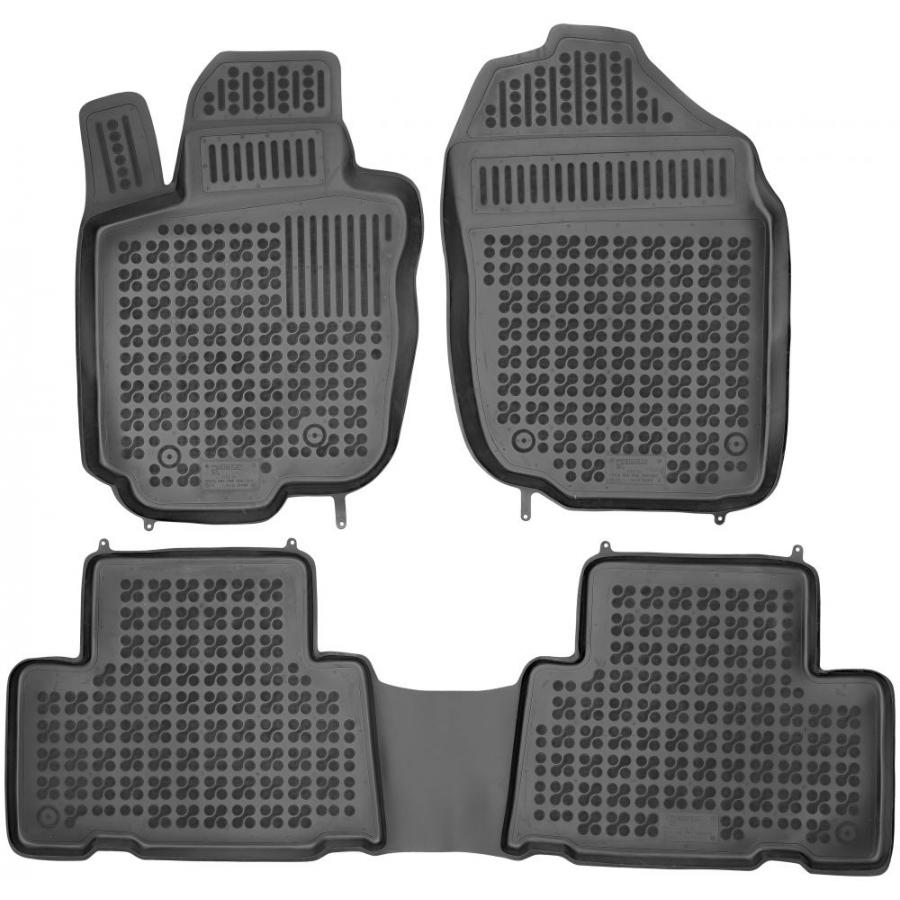 Guminiai kilimėliai TOYOTA RAV4 (EUROPA versija) 2006-2012 (Paaukštintais kraštais)