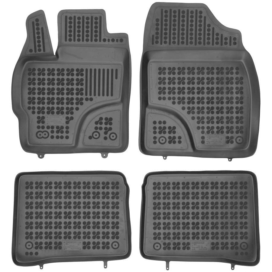 Guminiai kilimėliai TOYOTA Prius III 2011-2015 (Paaukštintais kraštais)