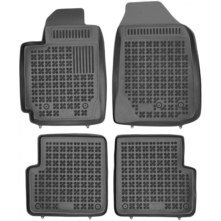Guminiai kilimėliai TOYOTA Corolla 2000-2006 (Paaukštintais kraštais)