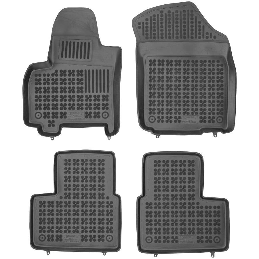 Guminiai kilimėliai SUZUKI SX4 2006-2013 su vieta gesintuvui (Paaukštintais kraštais)