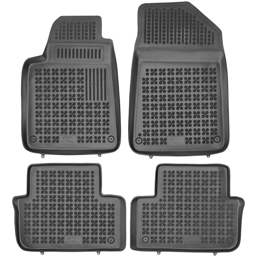 Guminiai kilimėliai PEUGEOT 407 2004-2010 (Paaukštintais kraštais)