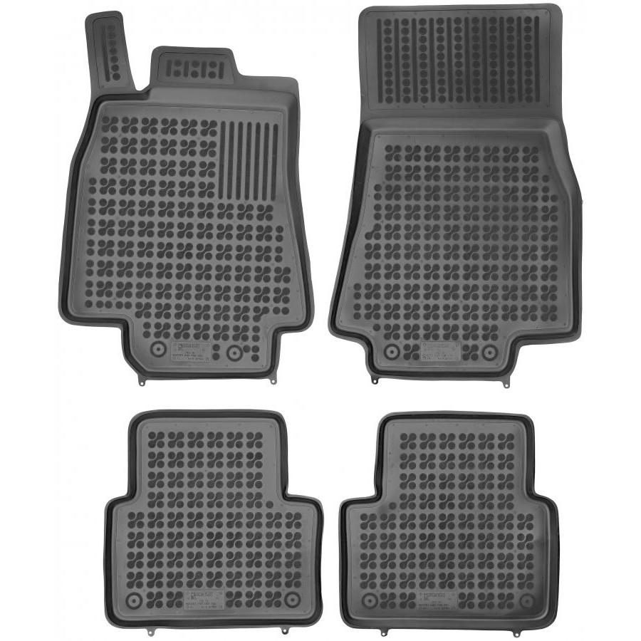 Guminiai kilimėliai MERCEDES BENZ W169 A-Klasė 2004-2013 (Paaukštintais kraštais)