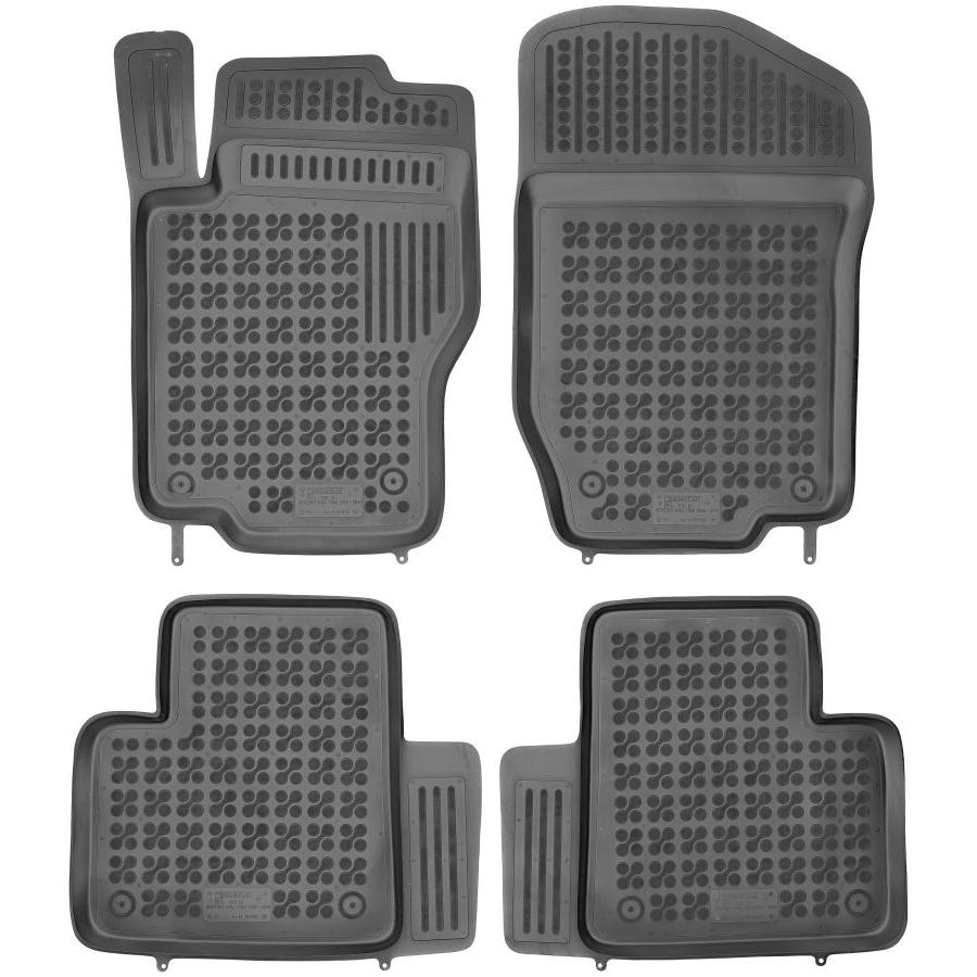 Guminiai kilimėliai MERCEDES BENZ W164 M-Klasė 2005-2011 (Paaukštintais kraštais)