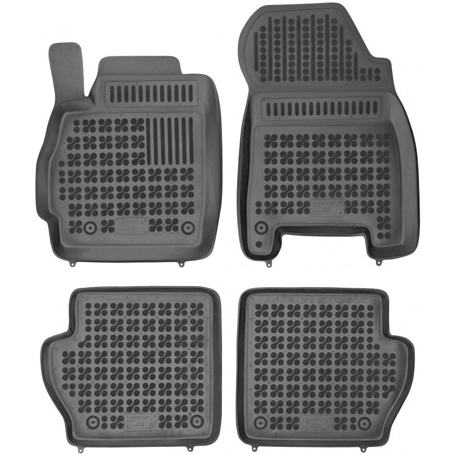 Guminiai kilimėliai MAZDA 2 su vieta gesintuvui 2007-2014 (Paaukštintais kraštais)